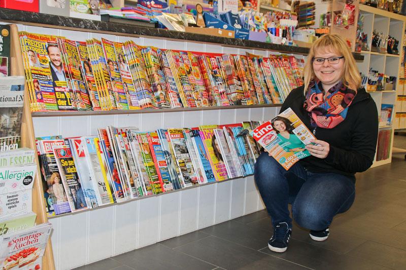 Auswahl an Zeitungen und Zeitschriften